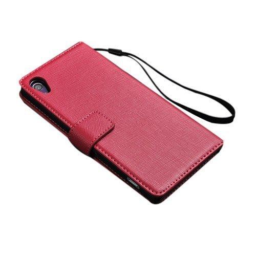 Ambassador Pinkki Sony Xperia Z2 Aito Nahkakotelo