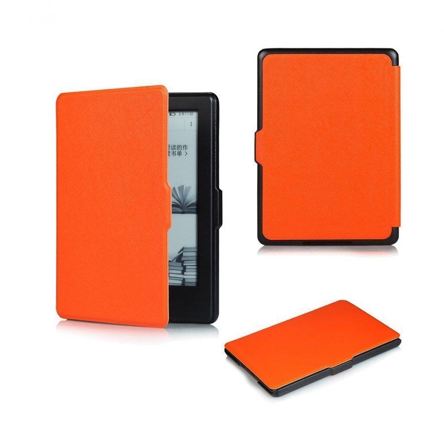 Amdrup Amazon Kindle 2016 Ohut Nahkakotelo Oranssi