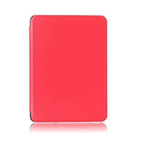 Amdrup Amazon Kindle Voyage Nahkakotelo Läpällä Punainen