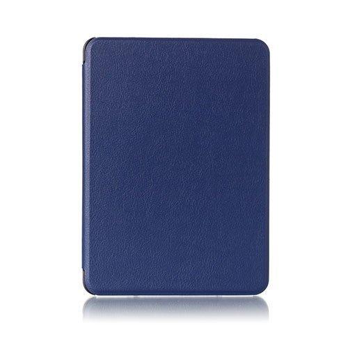 Amdrup Amazon Kindle Voyage Nahkakotelo Läpällä Sininen