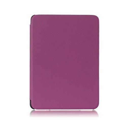 Amdrup Amazon Kindle Voyage Nahkakotelo Läpällä Violetti