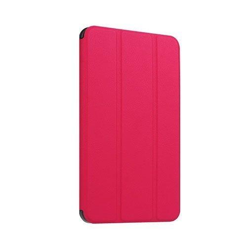 Amdrup Huawei Mediapad T1 7.0 Nahkakotelo Standillä Kuuma Pinkki