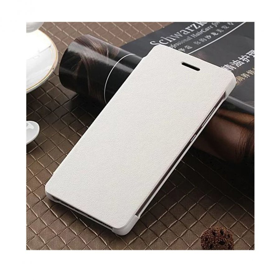 Amdrup Huawei P9 Erittäin Ohut Nahkakotelo Läpällä Valkoinen