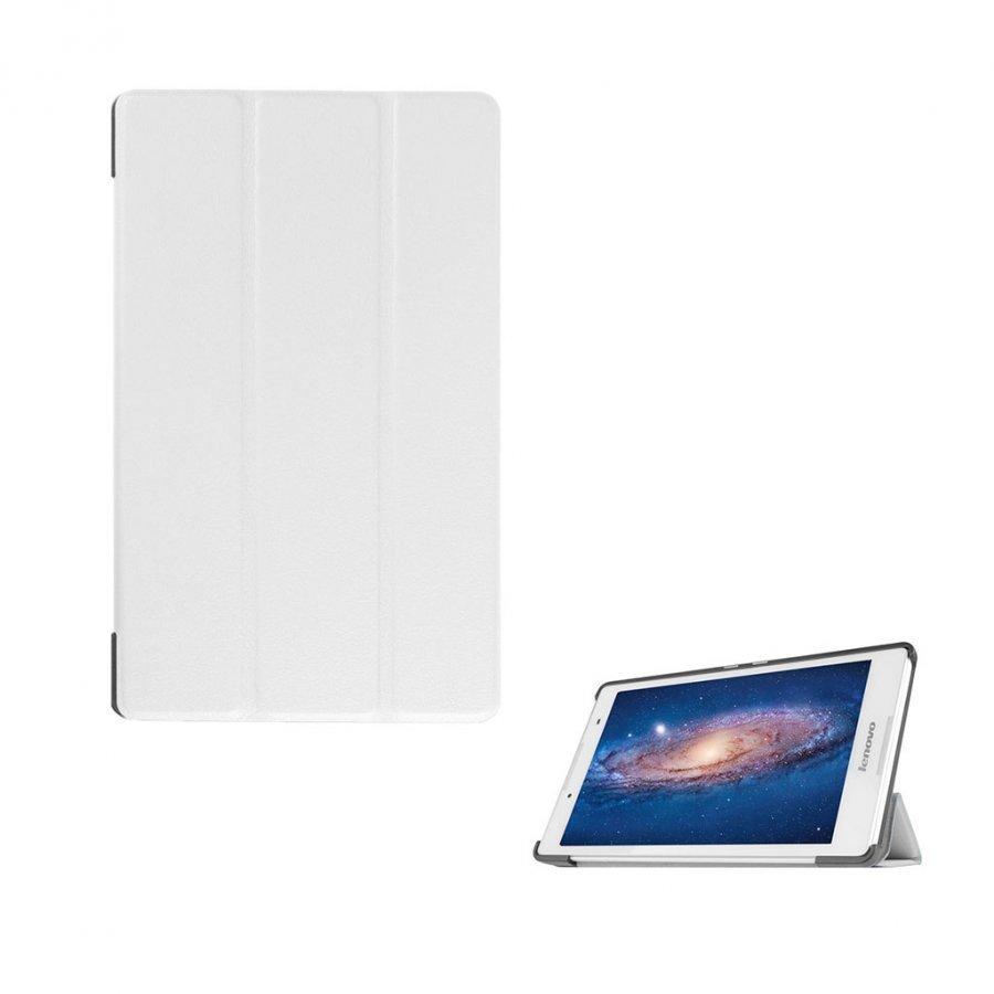Amdrup Lenovo Tab 3 8.0 Nahkakotelo Standillä Valkoinen