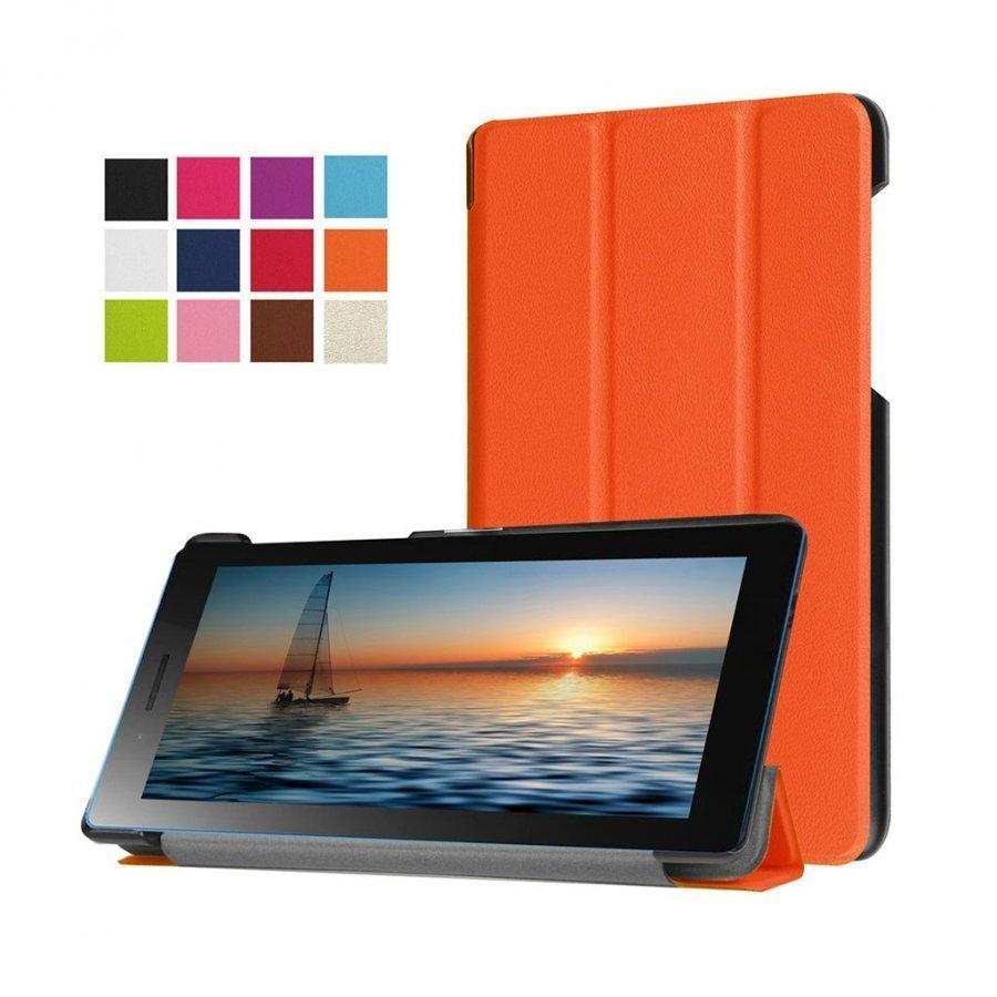 Amdrup Lenovo Tab3 Magneettinen Nahkakotelo Oranssi