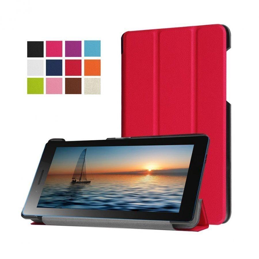Amdrup Lenovo Tab3 Magneettinen Nahkakotelo Punainen