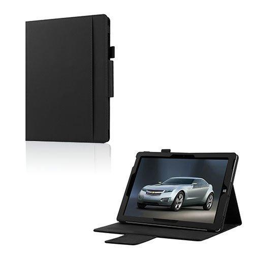 Amdrup Microsoft Surface 3 Nahka Kääntökotelo Musta