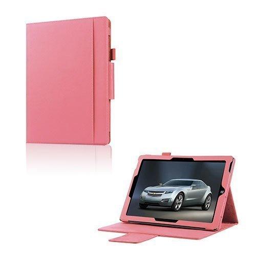 Amdrup Microsoft Surface 3 Nahka Kääntökotelo Pinkki