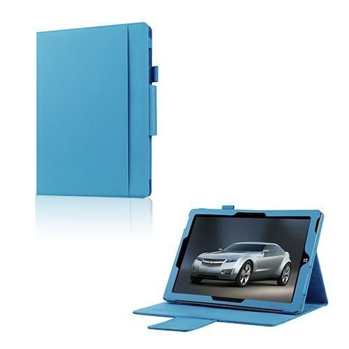 Amdrup Microsoft Surface 3 Nahka Kääntökotelo Vaaleansininen
