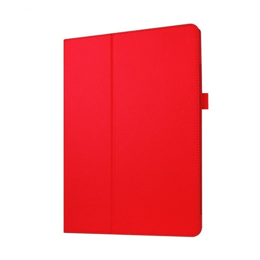Amdrup Microsoft Surface Pro 4 Litsi Pintainen Nahkakotelo Punainen
