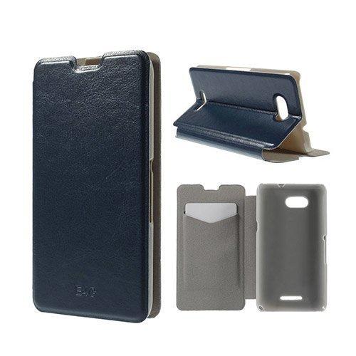 Amdrup Sony Xperia E4g Nahkakotelo Korttitaskuilla Tummansininen