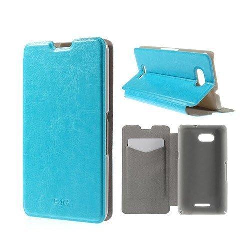 Amdrup Sony Xperia E4g Nahkakotelo Korttitaskuilla Vaalea Sininen