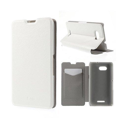 Amdrup Sony Xperia E4g Nahkakotelo Korttitaskuilla Valkoinen