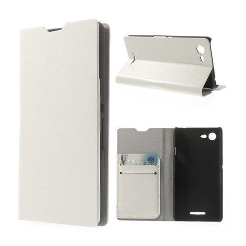 Amdrup Valkoinen Sony Xperia E3 Nahkakotelo