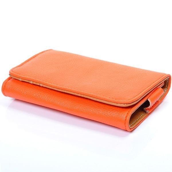 Amecs Puhelinlompakko Korttipaikoilla Oranssi