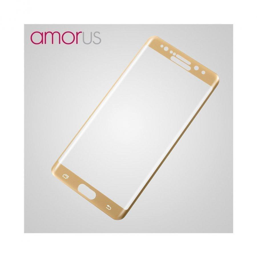 Amo Samsung Galaxy Note7 Kaareva Näytönsuoja Kulta