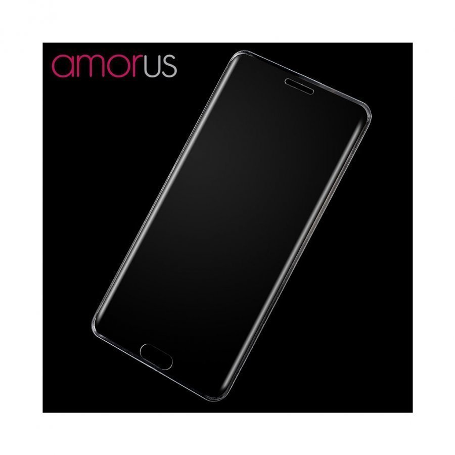 Amo Samsung Galaxy Note7 Kaareva Näytönsuoja Läpinäkyvä