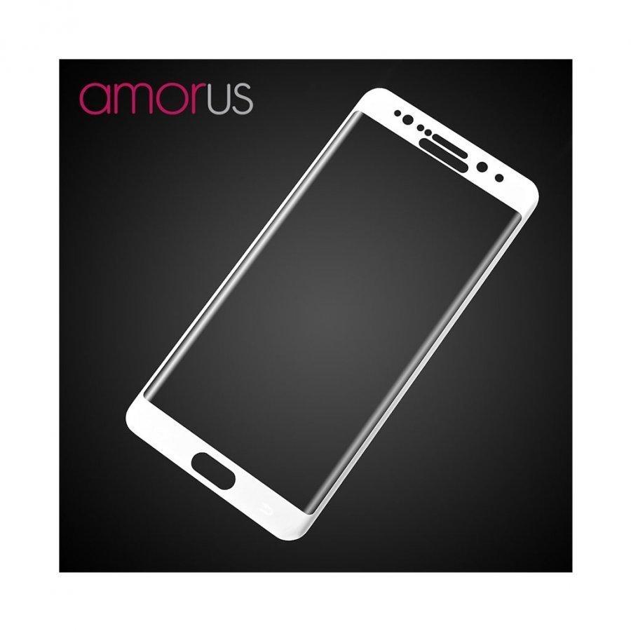 Amo Samsung Galaxy Note7 Kaareva Näytönsuoja Valkoinen