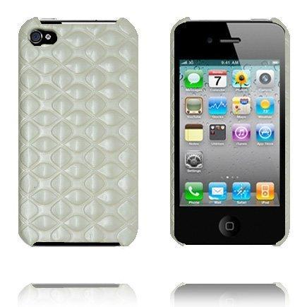 Amor Valkoiset Tiilet Iphone 4 Suojakuori