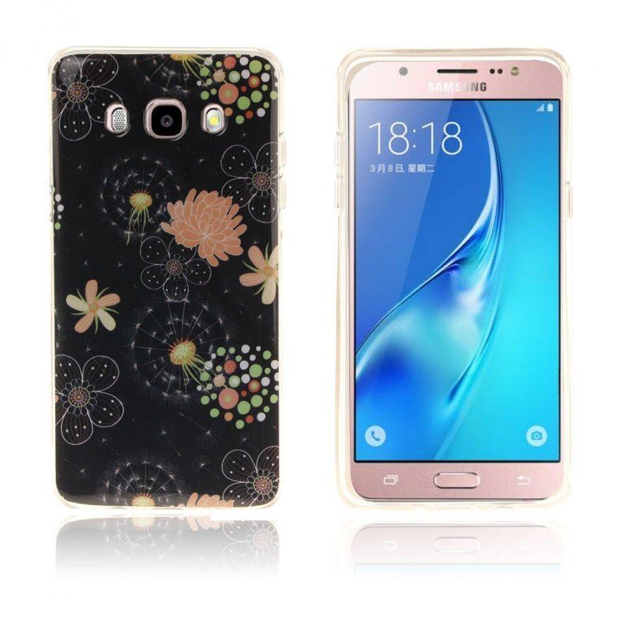 Ancher Imd Samsung Galaxy J5 2016 Joustava Kuori Kauniit Kukat