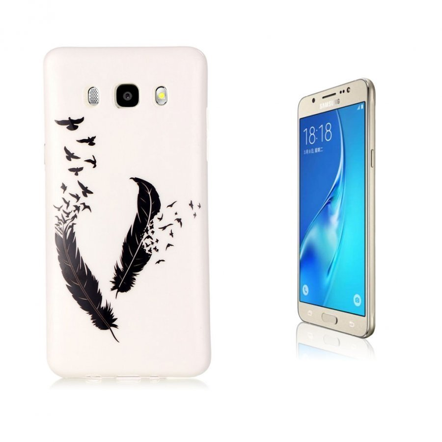 Ancher Imd Samsung Galaxy J5 2016 Joustava Kuori Sulka Linnut