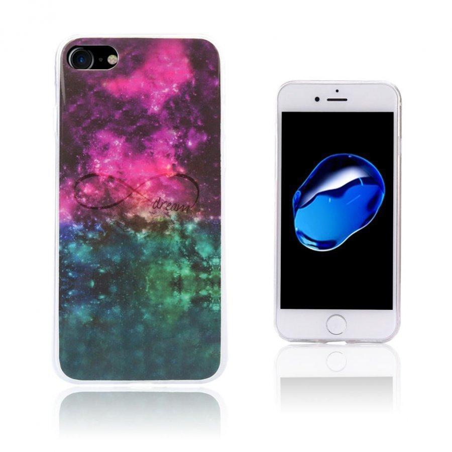 Ancher Iphone 7 Joustava Geelikuori Kuvalla Ääretön Galaksi Kuvio