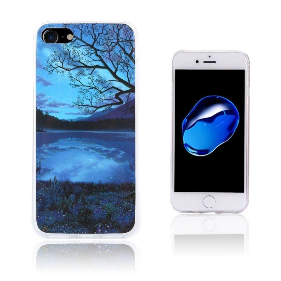 Ancher Iphone 7 Joustava Geelikuori Kuvalla Kaunis Yö Näkymä