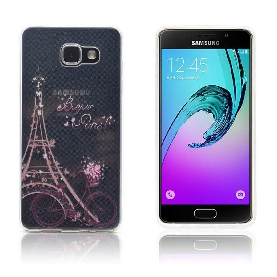Ancher Samsung Galaxy A3 2016 Kuori Eiffel Torni Ja Pyörä