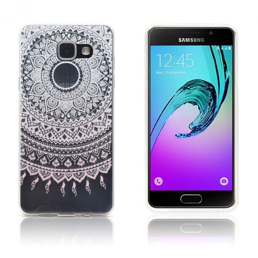 Ancher Samsung Galaxy A3 2016 Kuori Mandala Kukka