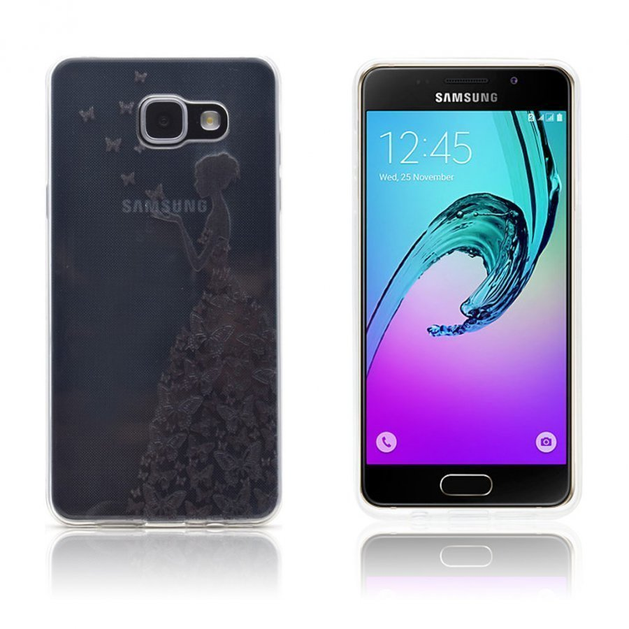 Ancher Samsung Galaxy A3 2016 Kuori Perhos Keiju