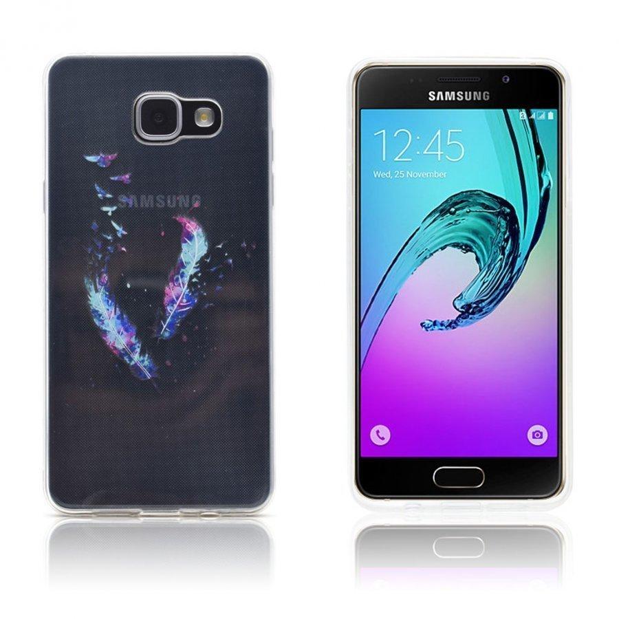 Ancher Samsung Galaxy A3 2016 Kuori Sulkia Ja Lintuja