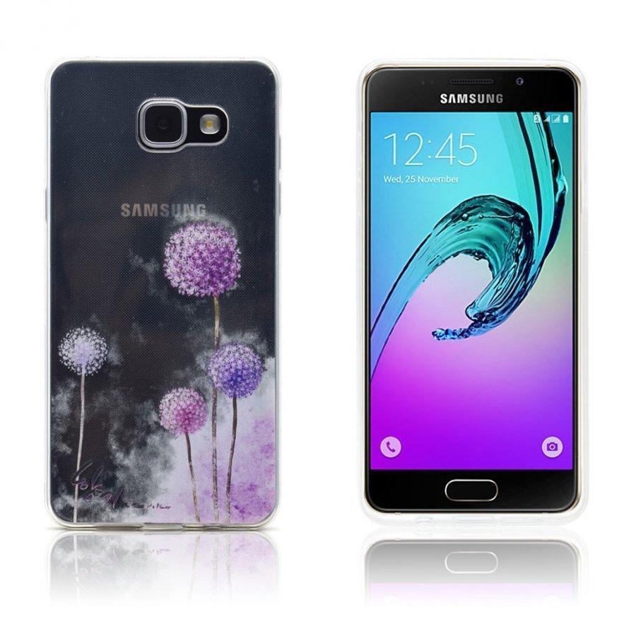 Ancher Samsung Galaxy A3 2016 Kuori Violetti Voikukka