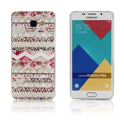 Ancher Samsung Galaxy A5 2016 Silikonikuori Geometrinen Kuvio
