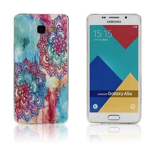 Ancher Samsung Galaxy A5 2016 Silikonikuori Henna Lootus