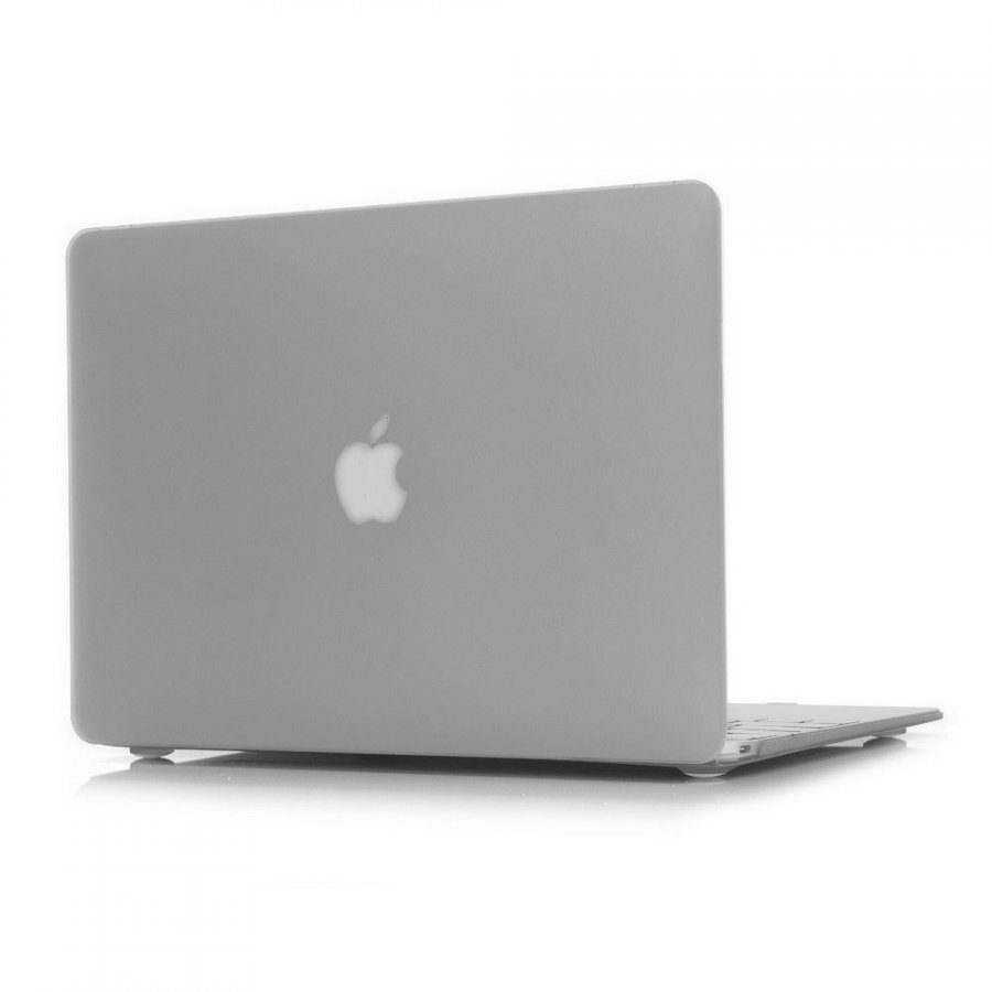 Ancker Macbook 12-Inch 2015 Retina Display Nahkakotelo Korttitaskuilla Semitransparent