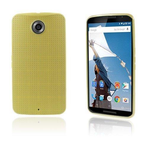 Andersen Keltainen Motorola Nexus 6 Suojakuori