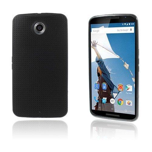 Andersen Musta Motorola Nexus 6 Suojakuori