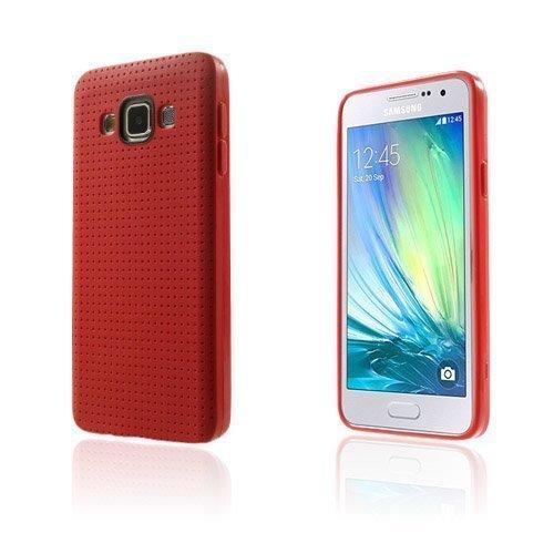 Andersen Samsung Galaxy A3 Suojakuori Punainen