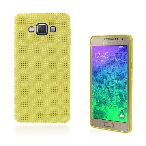 Andersen Samsung Galaxy A7 Suojakuori Keltainen