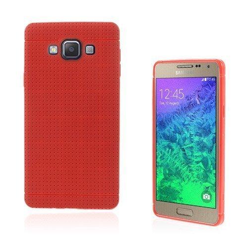 Andersen Samsung Galaxy A7 Suojakuori Punainen