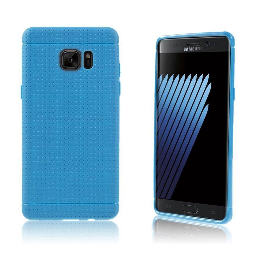 Andersen Samsung Galaxy Note7 Suojaava Joustava Muovikuori Sininen