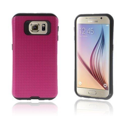 Andersen Samsung Galaxy S6 Suojakuori Kuuma Pinkkiki