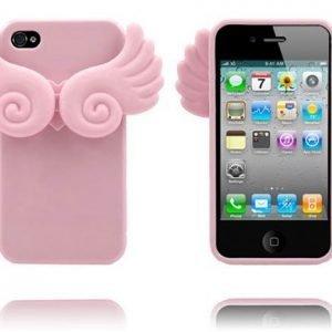 Angel Wings Pinkki Iphone 4 / 4s Suojakuori