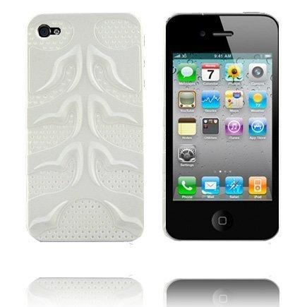 Angel Wings Valkoinen Iphone 4 Suojakuori
