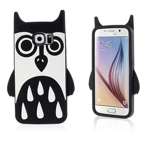 Animal Samsung Galaxy S6 Suojakuori Pöllö