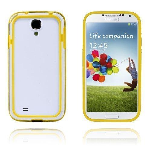 Anti-Shock Keltainen Samsung Galaxy S4 Suojakehys
