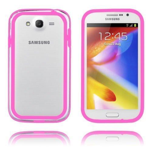 Anti-Shock Kuuma Pinkki Samsung Galaxy Grand Duos Bumper
