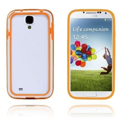 Anti-Shock Oranssi Samsung Galaxy S4 Suojakehys
