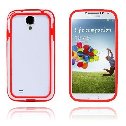 Anti-Shock Punainen Samsung Galaxy S4 Suojakehys