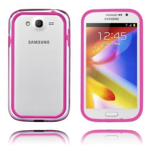 Anti-Shock Tummanpinkki Samsung Galaxy Grand Duos Bumper